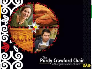 Purdy Crawford Chair in Aboriginal Business Studies