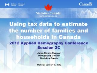 2012 Applied Demography Conference Session 2C