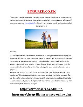 Realistic cheap life insurance Programs - Uncovered Tips