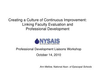 Professional Development Liaisons Workshop October 14, 2010