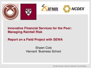 Shawn Cole Harvard  Business School