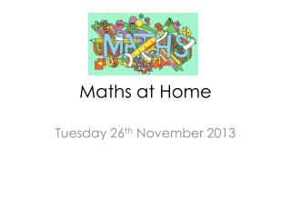 Maths at Home
