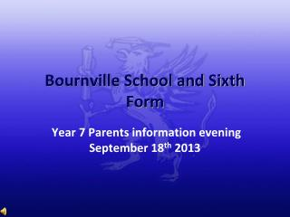 Bournville School and Sixth Form