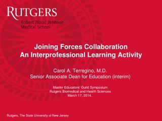 Joining Forces Collaboration An Interprofessional Learning Activity