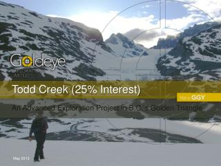 Todd Creek (25% Interest)