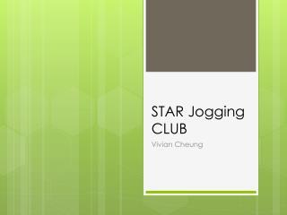 STAR Jogging CLUB