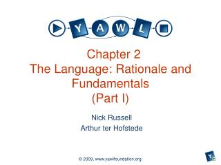 Chapter 2 The Language: Rationale and Fundamentals (Part I)
