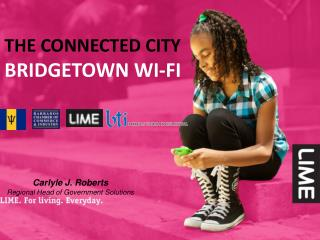 The connected city  bridgetown wi-fi