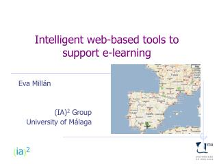 Intelligent web-based tools to  support e-learning