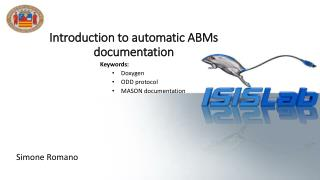 Introduction  to  automatic ABMs documentation