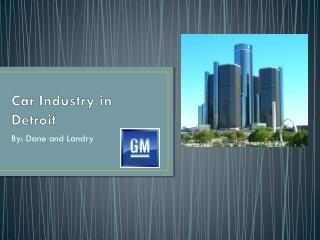 Car Industry in Detroit