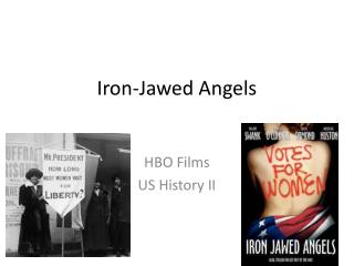 Iron-Jawed Angels