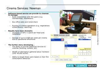 Cinema Services: Newman