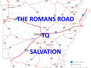 THE ROMANS ROAD TO SALVATION