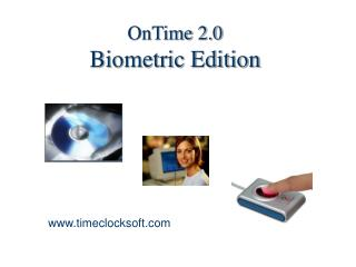 OnTime 2.0 Biometric Edition