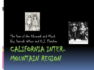 California Inter- Mountain Region