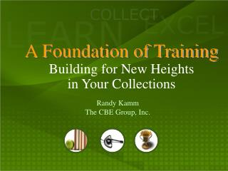 A Foundation of Training Building for New Heights  in Your Collections