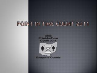 Point in Time count 2011
