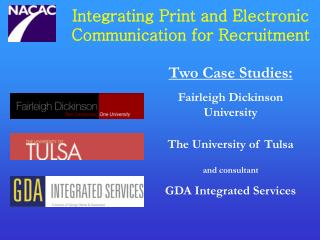 Integrating Print and Electronic Communication for Recruitment