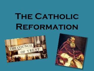 catholic reform Learn catholic reformation with free interactive flashcards choose from 500 different sets of catholic reformation flashcards on quizlet.