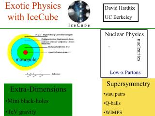 Exotic Physics with IceCube
