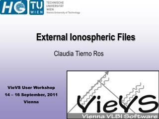 External  Ionospheric Files