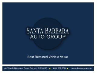Best Retained Vehicle Value