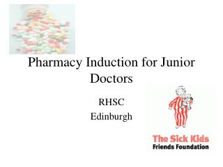 Pharmacy Induction for Junior Doctors