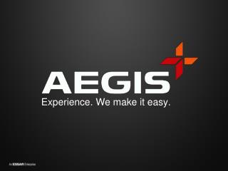Experience. We make it easy .