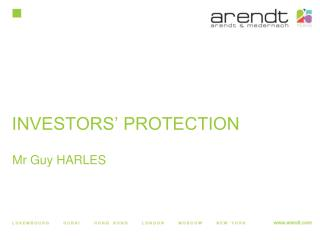 INVESTORS' PROTECTION