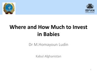 Where and How Much to Invest in Babies