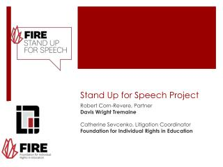 Stand Up for Speech Project