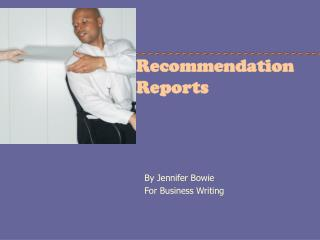 Recommendation  Reports