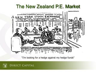 The New Zealand P.E. Market