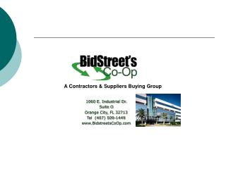 A Contractors & Suppliers Buying Group