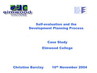 Self-evaluation and the Development Planning Process