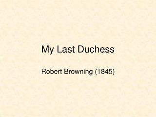 robert browning essay essay Need essay sample on robert browning - robert browning introduction we will write a cheap essay sample on robert browning specifically for you for only $1290/page.