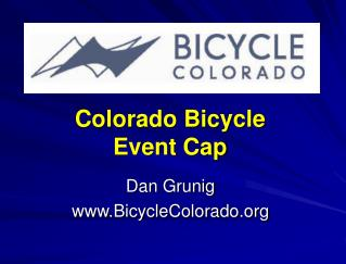Colorado Bicycle  Event Cap