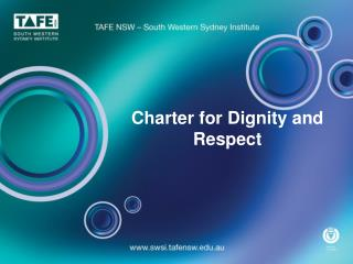 Charter for Dignity and Respect