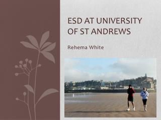 ESD at University of St Andrews