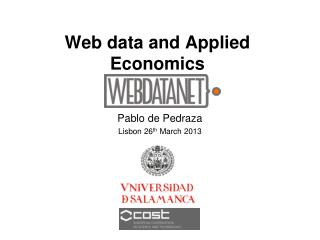 Web data and Applied Economics