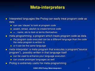 Meta-interpreters