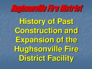 Hughsonville Fire District