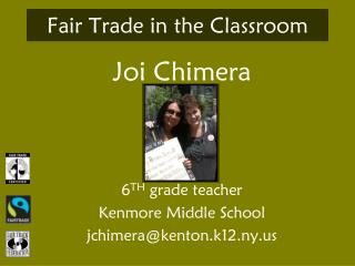 Fair Trade in the Classroom