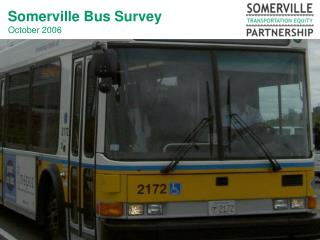 Somerville Bus Survey