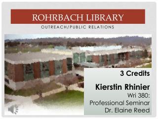 Rohrbach Library