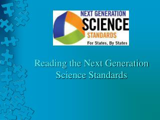 Reading the Next Generation Science Standards