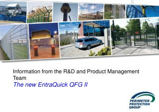 Information from the R&D and Product Management Team