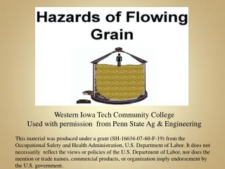 Western Iowa Tech Community College  Used with permission  from Penn State Ag & Engineering