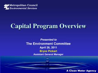 Capital  Program  Overview